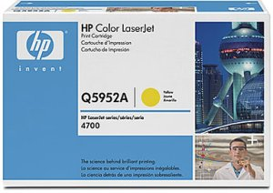 Картридж HP Color LJ 4700, (Q5952A), желт.