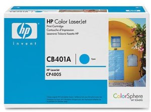 Картридж HP Color LJ CP4005, (CB401A), син.