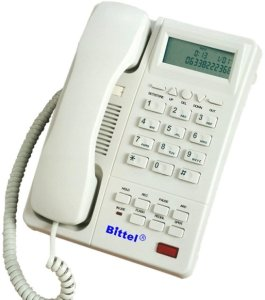 Телефон Bittel CID Phone, speakerphone, display, Caller ID, MWL (HA9888(38)TSD)